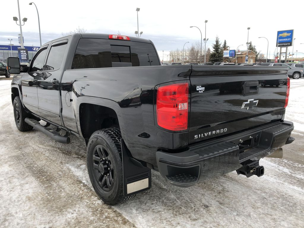 Black[Black] 2016 Chevrolet Silverado 2500HD Left Rear Corner Photo in Edmonton AB