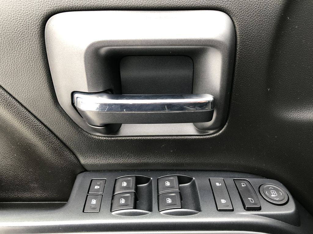 Black[Black] 2016 Chevrolet Silverado 2500HD  Driver's Side Door Controls Photo in Edmonton AB