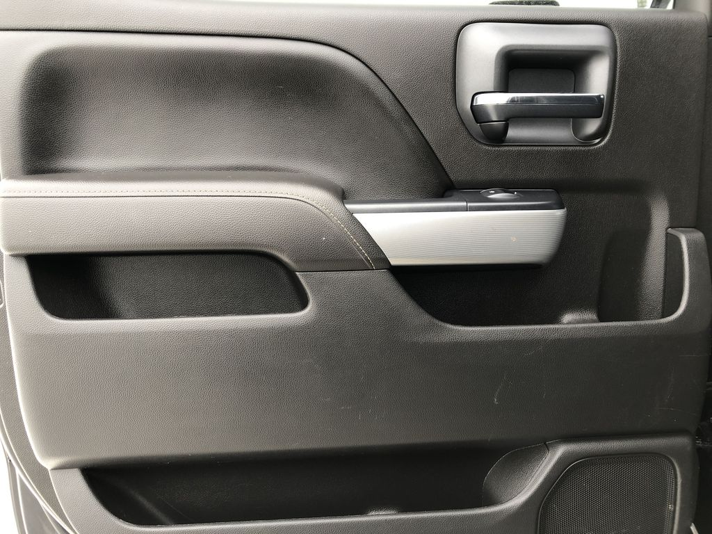 Black[Black] 2016 Chevrolet Silverado 2500HD Left Rear Interior Door Panel Photo in Edmonton AB