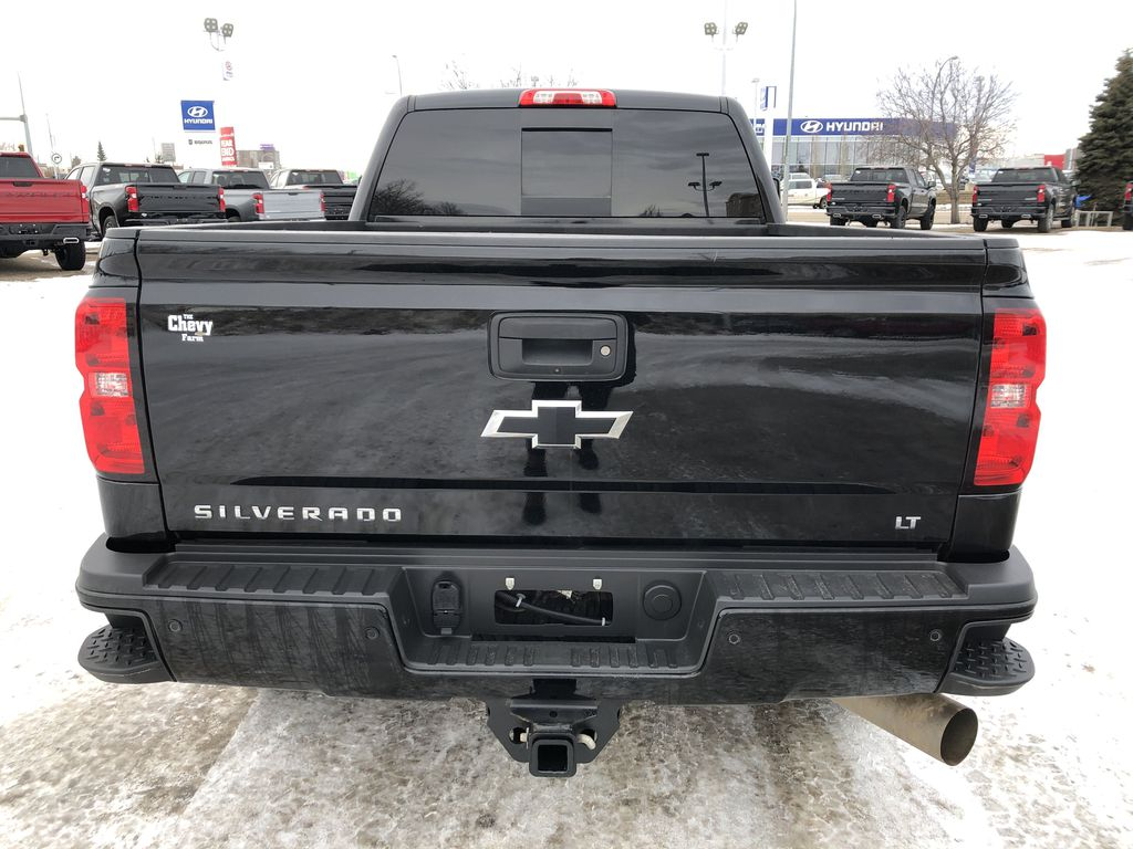 Black[Black] 2016 Chevrolet Silverado 2500HD Rear of Vehicle Photo in Edmonton AB