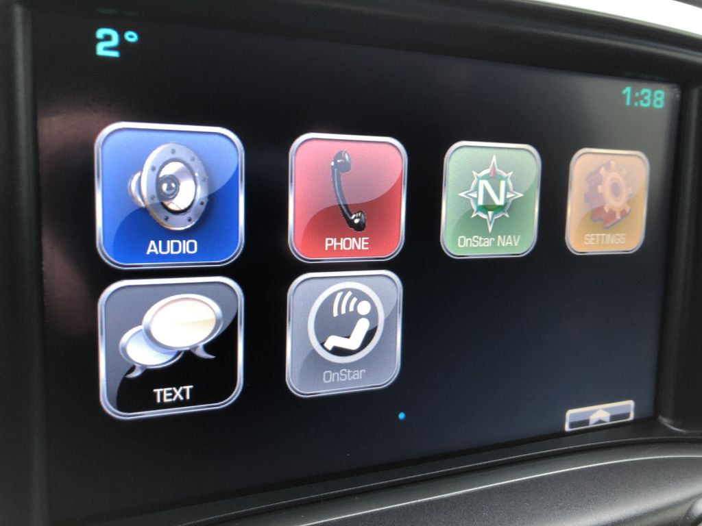 Black[Black] 2016 Chevrolet Silverado 2500HD Radio Controls Closeup Photo in Edmonton AB