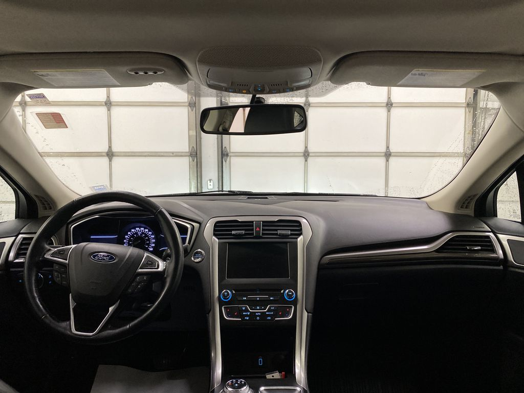 White[Oxford White] 2017 Ford Fusion Strng Wheel/Dash Photo: Frm Rear in Dartmouth NS