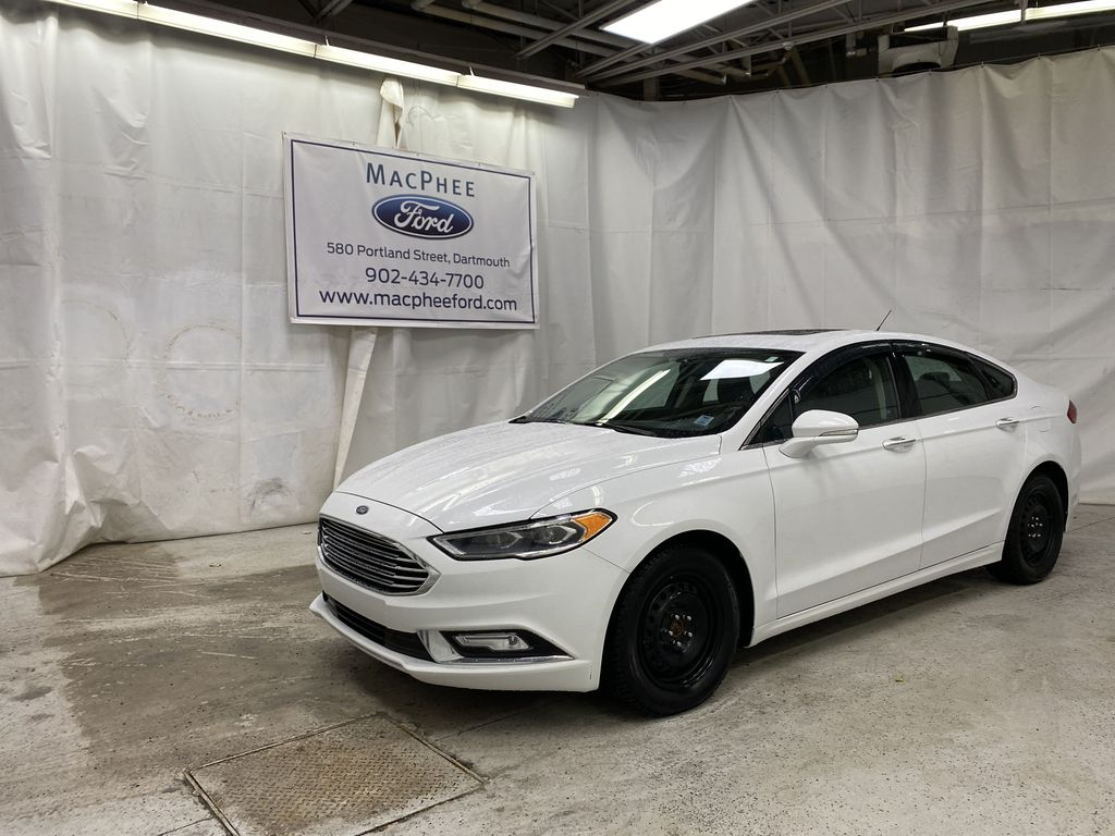 White[Oxford White] 2017 Ford Fusion