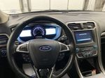 White[Oxford White] 2017 Ford Fusion Steering Wheel and Dash Photo in Dartmouth NS