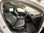 White[Oxford White] 2017 Ford Fusion Right Side Front Seat  Photo in Dartmouth NS