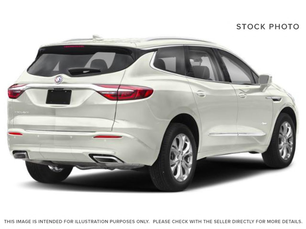 White[White Frost Tricoat] 2021 Buick Enclave Right Rear Corner Photo in Edmonton AB