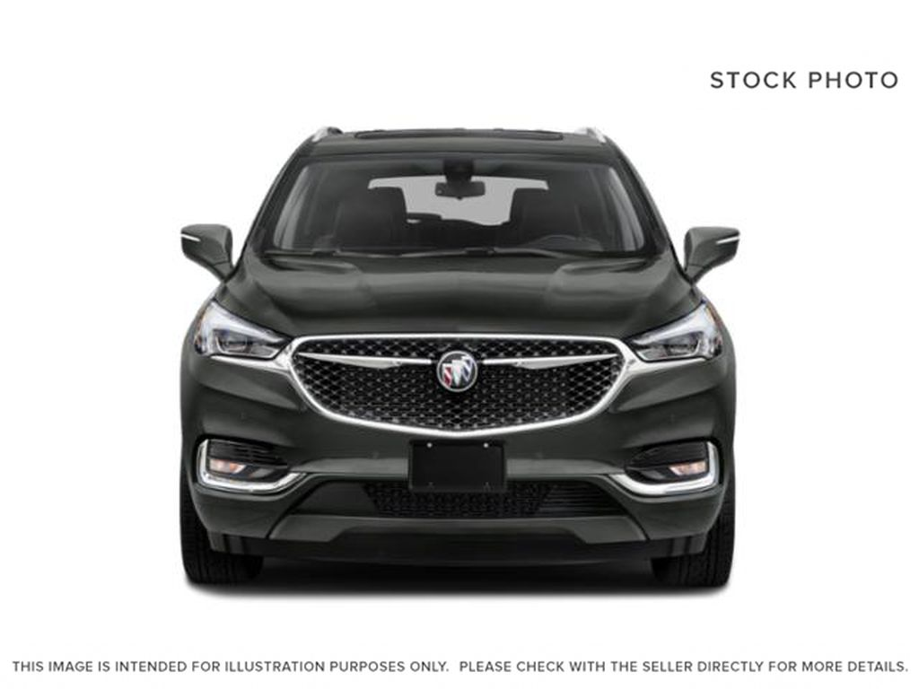 White[White Frost Tricoat] 2021 Buick Enclave Front Vehicle Photo in Edmonton AB