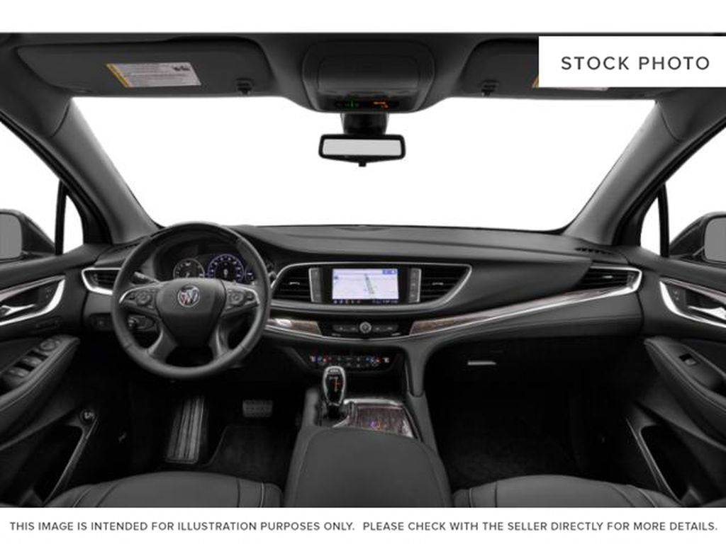 White[White Frost Tricoat] 2021 Buick Enclave Central Dash Options Photo in Edmonton AB