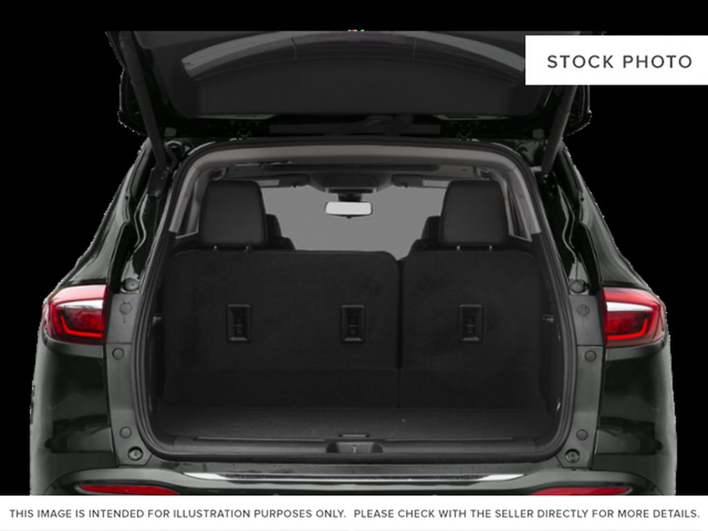 White[White Frost Tricoat] 2021 Buick Enclave Trunk / Cargo Area Photo in Edmonton AB