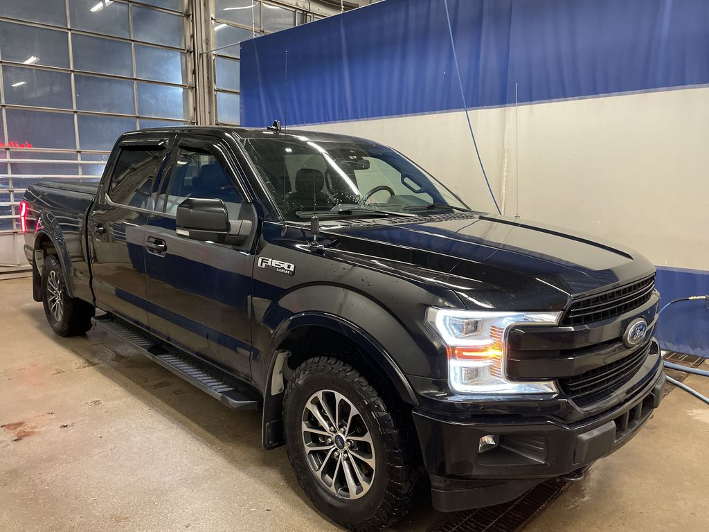 BLACK 2018 Ford F-150 Engine Compartment Photo in Edmonton AB