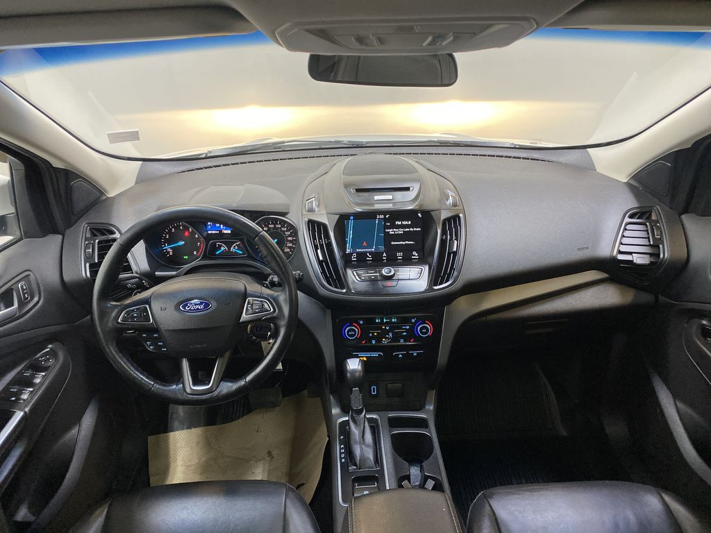 WHITE 2017 Ford Escape SE - Apple CarPlay, Backup Camera, NAV Strng Wheel/Dash Photo: Frm Rear in Edmonton AB