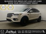 WHITE 2017 Ford Escape SE - Apple CarPlay, Backup Camera, NAV Primary Listing Photo in Edmonton AB