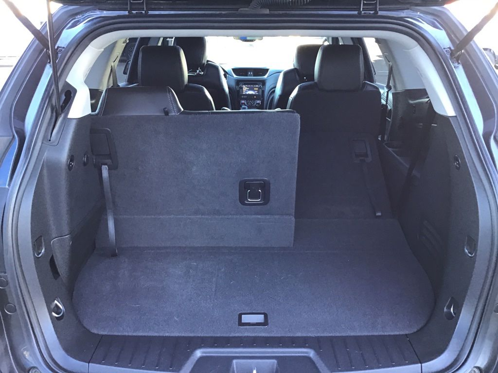 Grey 2017 Chevrolet Traverse Driver's Side Door Controls Photo in Brooks AB