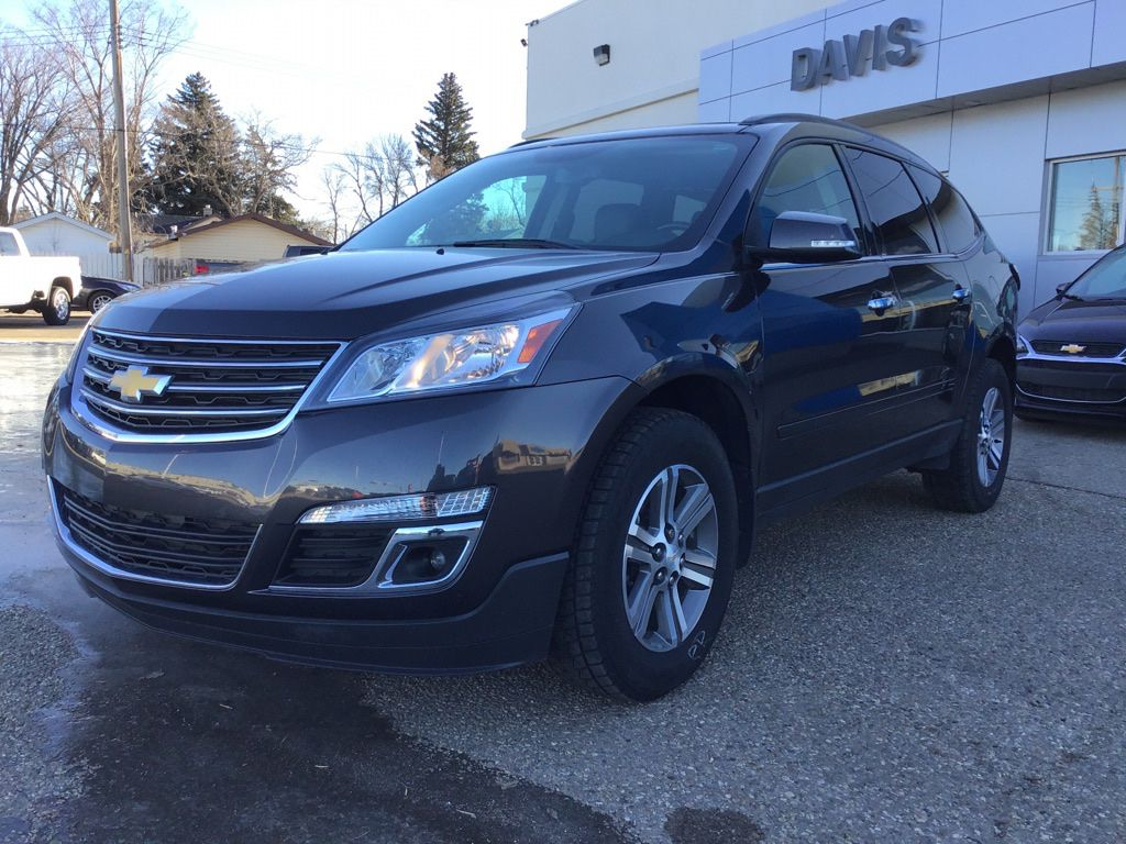 Grey 2017 Chevrolet Traverse