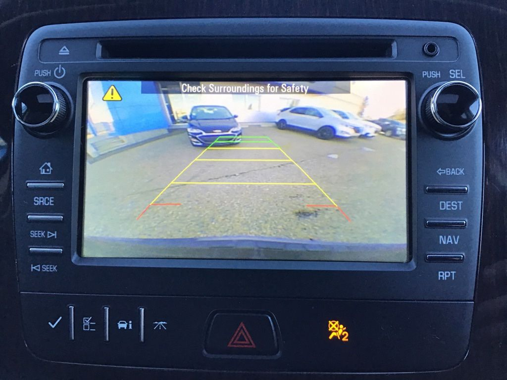 Grey 2017 Chevrolet Traverse Left Rear Corner Photo in Brooks AB