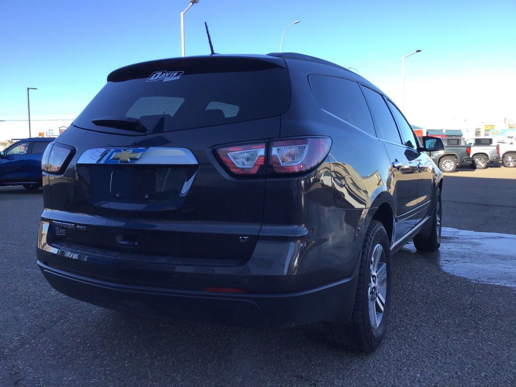 Grey 2017 Chevrolet Traverse Left Front Interior Photo in Brooks AB