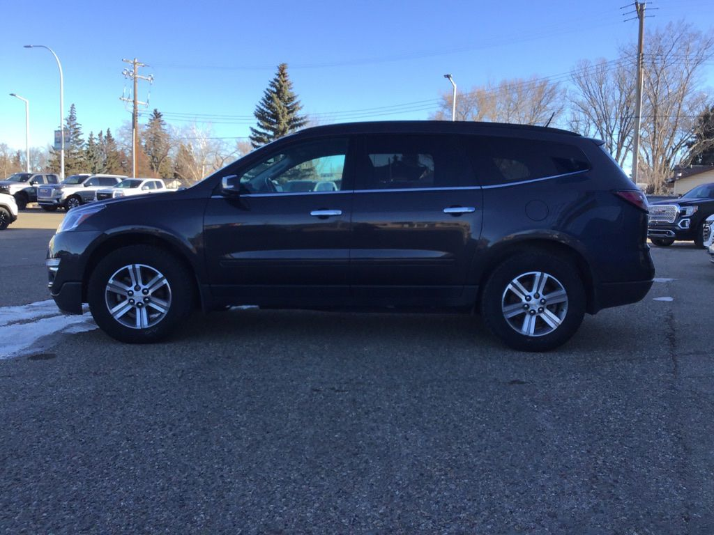 Grey 2017 Chevrolet Traverse Left Front Corner Photo in Brooks AB