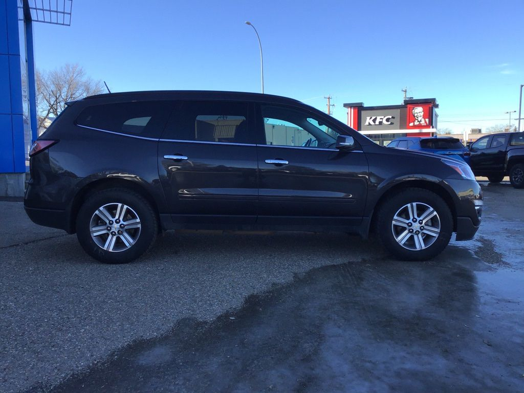 Grey 2017 Chevrolet Traverse Sunroof Photo in Brooks AB