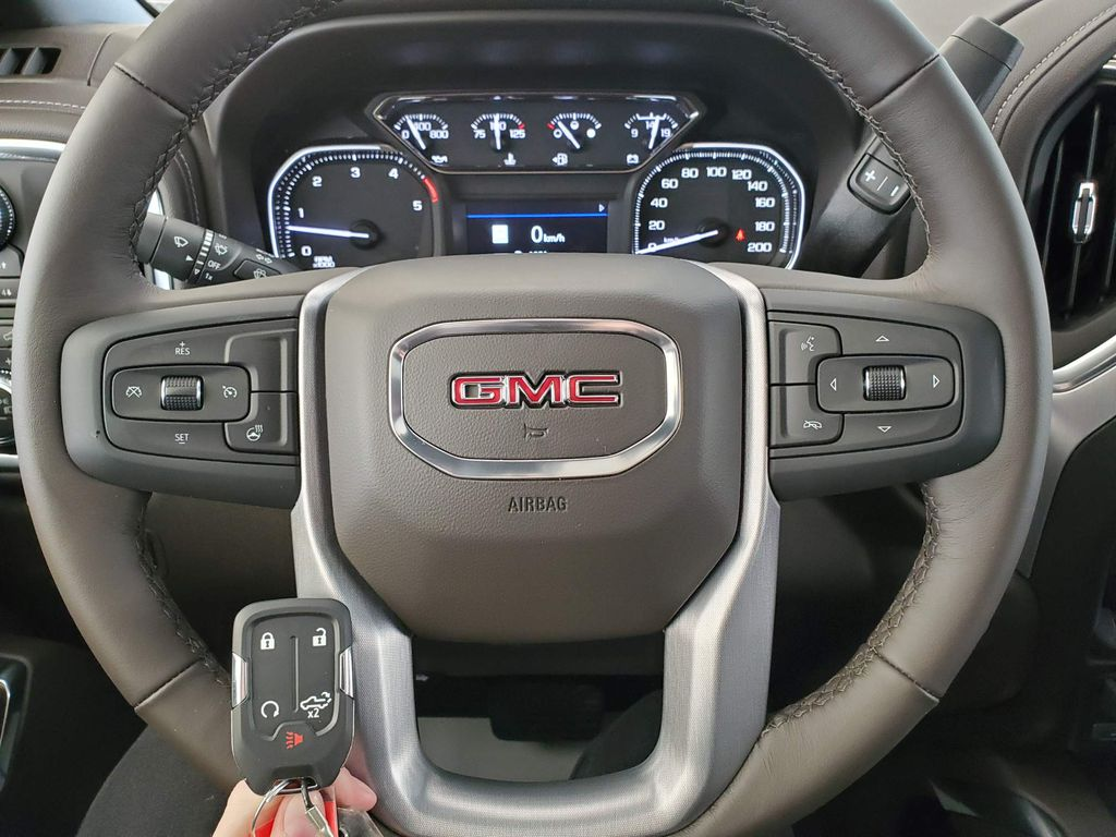 Black 2021 GMC Sierra 2500HD Left Side Photo in Airdrie AB
