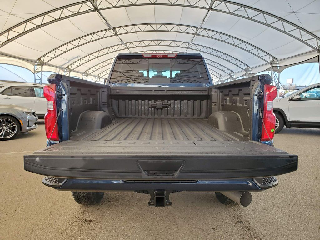 Blue 2021 Chevrolet Silverado 2500HD Right Side Front Seat  Photo in Airdrie AB