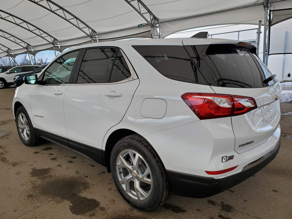 White 2021 Chevrolet Equinox Backup Camera Closeup Photo in Airdrie AB