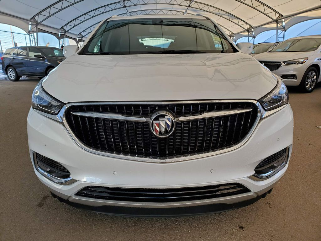 White 2021 Buick Enclave Left Front Corner Photo in Airdrie AB