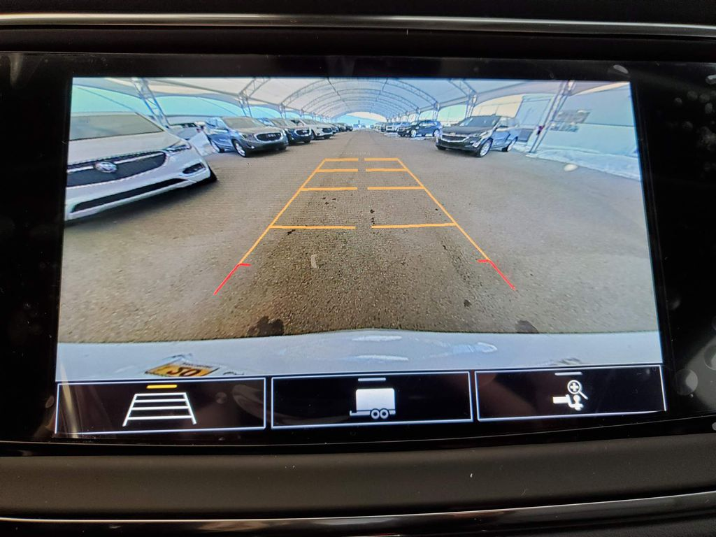 White 2021 Buick Enclave Left Side Rear Seat  Photo in Airdrie AB