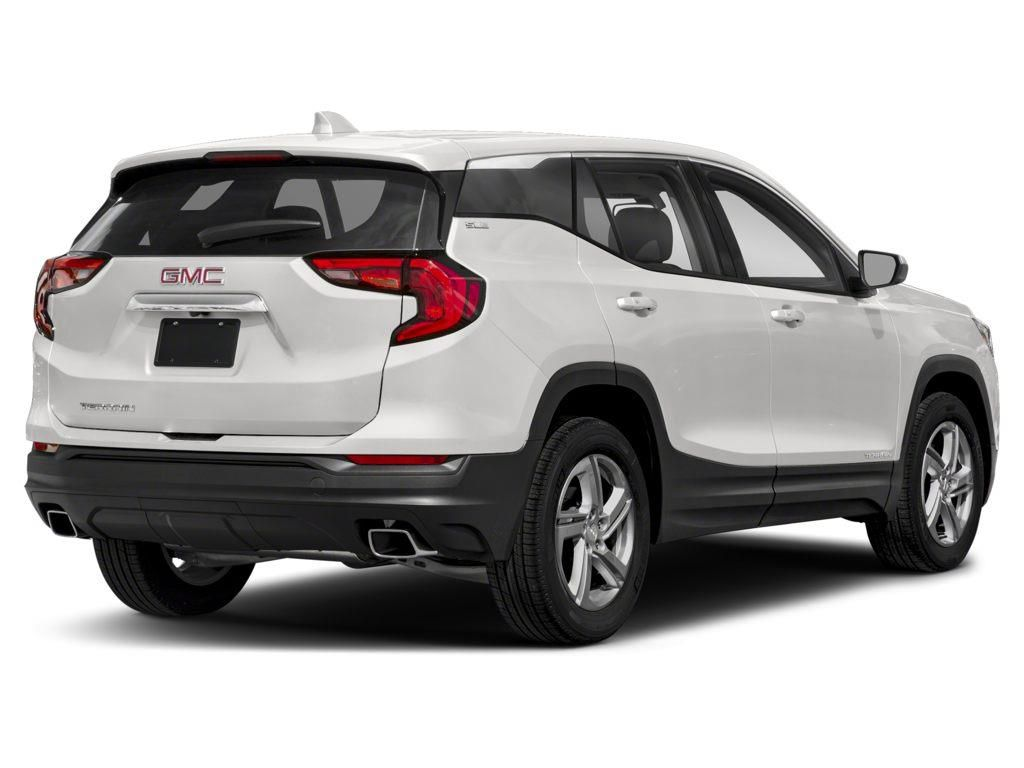 White 2021 GMC Terrain Left Front Rim and Tire Photo in Westlock AB