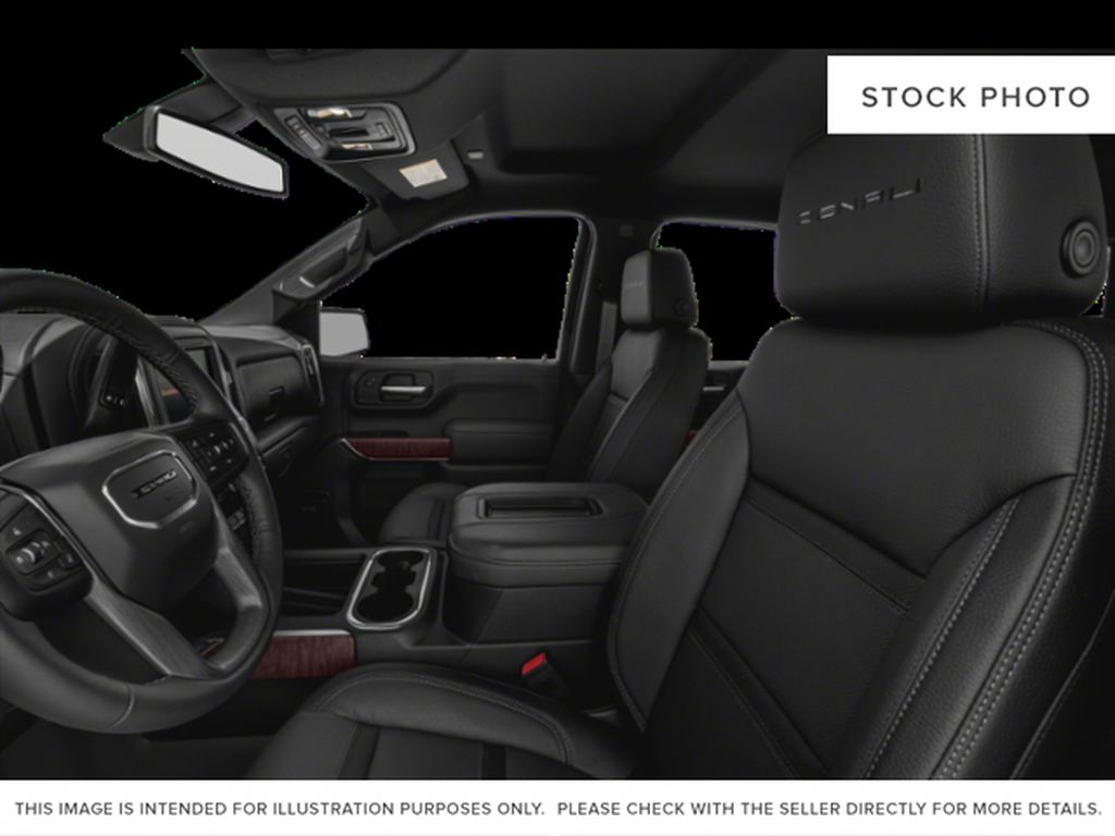 White Frost Tricoat 2021 GMC Sierra 1500 Left Front Interior Photo in Oshawa ON