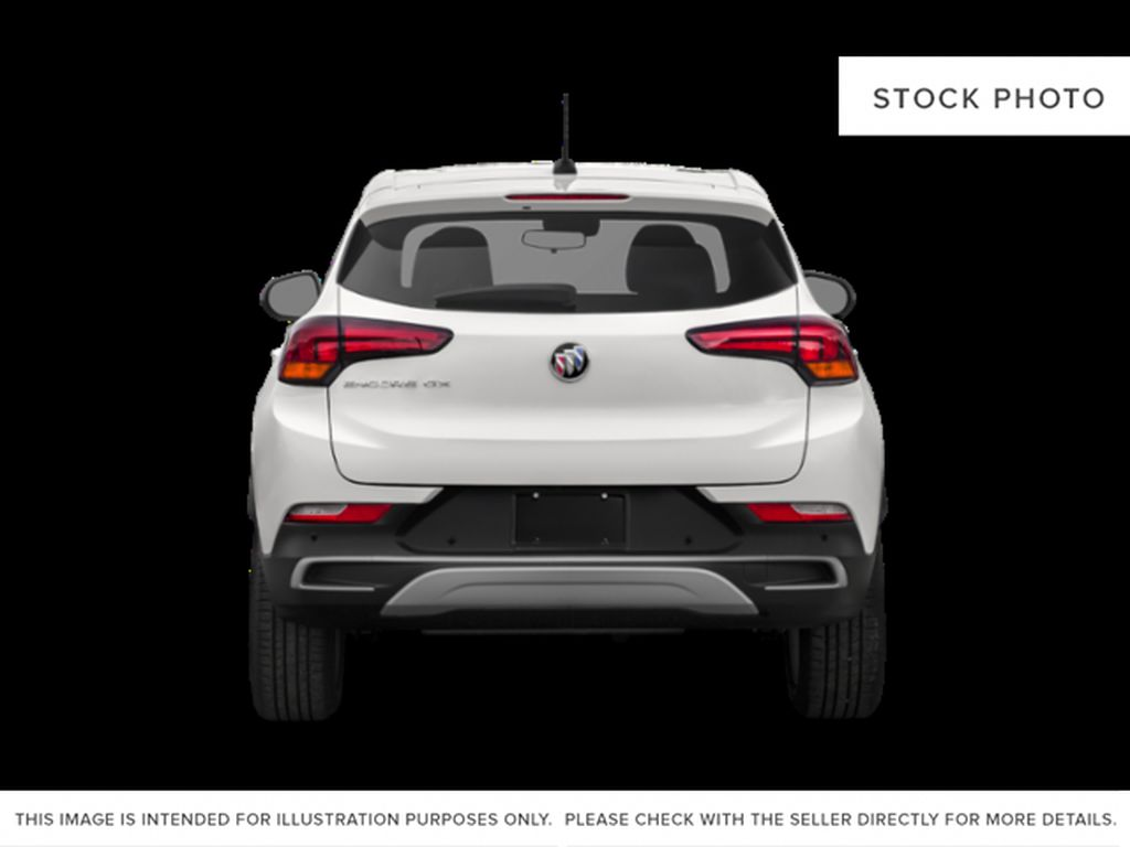 BLACK CURRANT 2021 Buick Encore GX Rear of Vehicle Photo in Oshawa ON