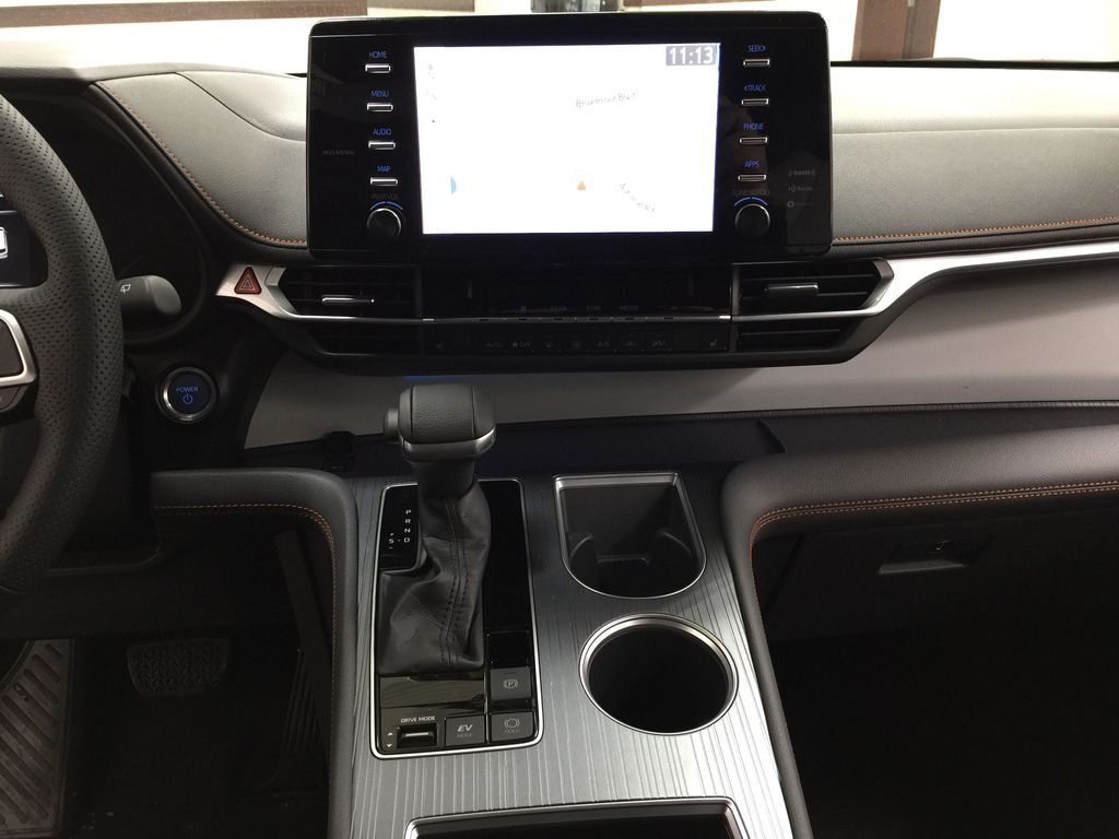 Gray[Predawn Gray Mica] 2021 Toyota Sienna XSE Hybrid FWD Central Dash Options Photo in Sherwood Park AB