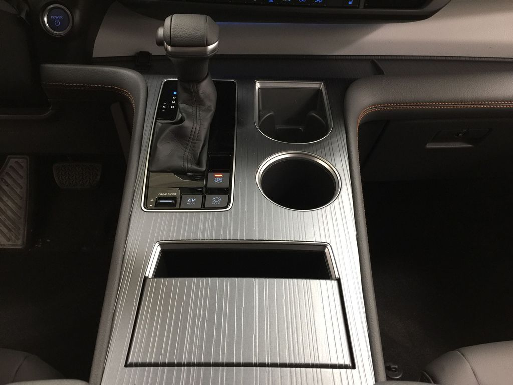 Gray[Predawn Gray Mica] 2021 Toyota Sienna XSE Hybrid FWD Lower Dash Photo in Sherwood Park AB