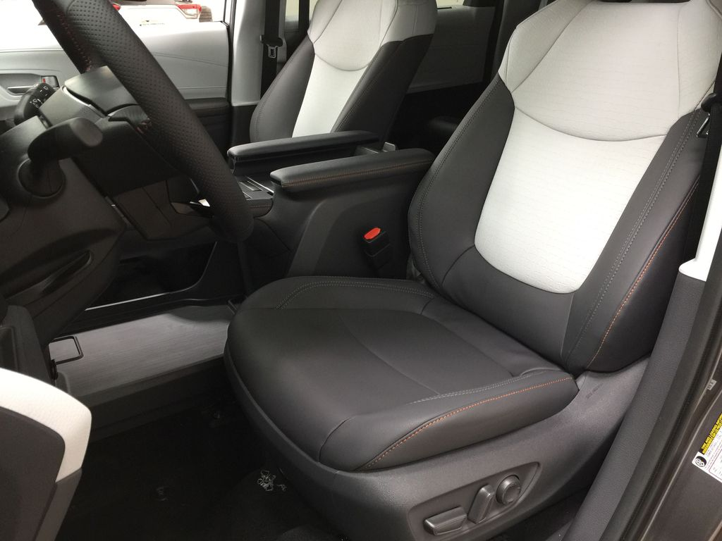 Gray[Predawn Gray Mica] 2021 Toyota Sienna XSE Hybrid FWD Left Front Interior Photo in Sherwood Park AB