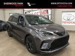 Gray[Predawn Gray Mica] 2021 Toyota Sienna XSE Hybrid FWD Primary Listing Photo in Sherwood Park AB