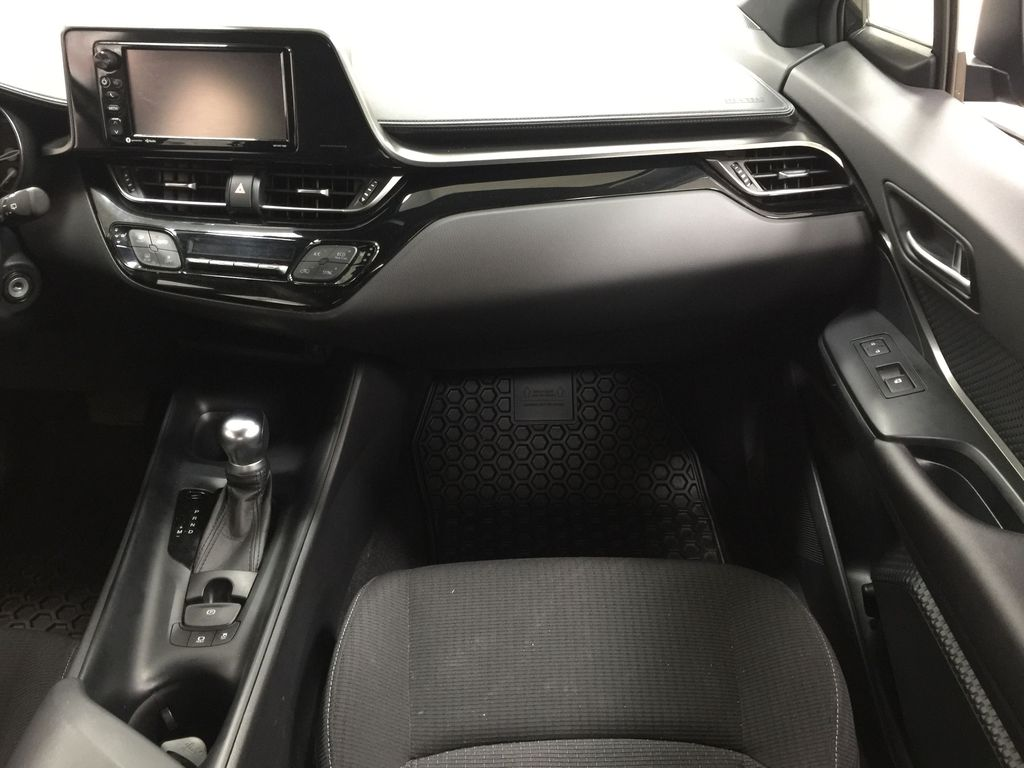 Black[Black Sand Pearl] 2018 Toyota C-HR XLE Right Front Seat Photo in Sherwood Park AB