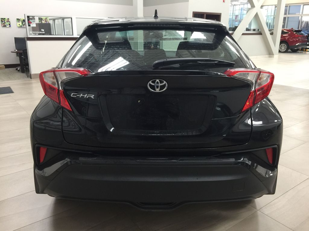 Black[Black Sand Pearl] 2018 Toyota C-HR XLE Rear of Vehicle Photo in Sherwood Park AB
