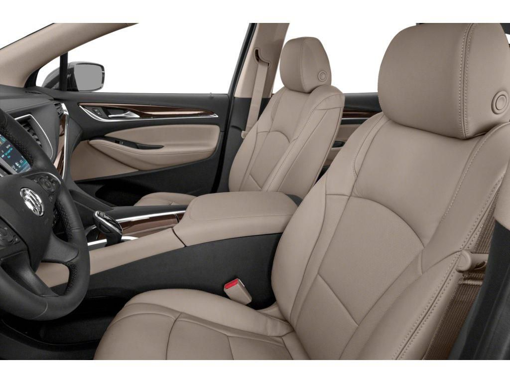 Grey 2021 Buick Enclave Left Front Interior Photo in Lethbridge AB