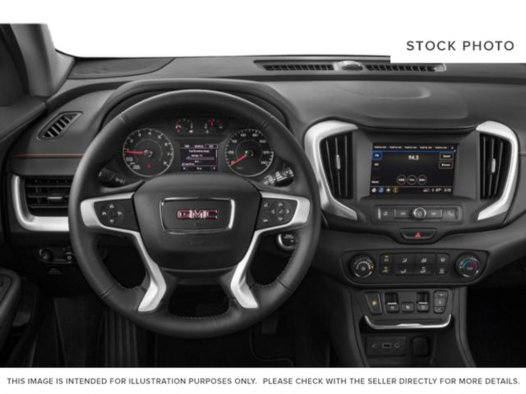 White 2020 GMC Terrain Steering Wheel and Dash Photo in Medicine Hat AB