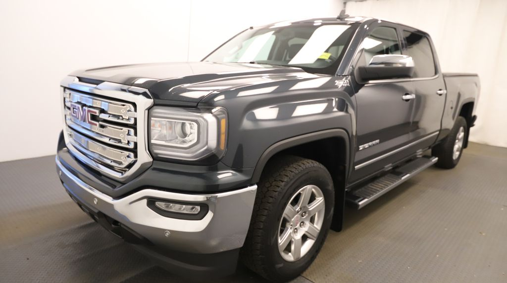 Grey 2017 GMC Sierra 1500 Left Front Head Light / Bumper and Grill in Lethbridge AB