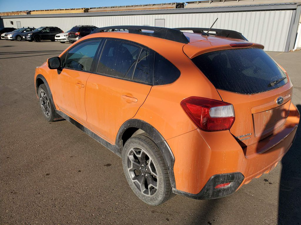 Orange 2014 Subaru XV Crosstrek Left Front Interior Door Panel Photo in Lethbridge AB