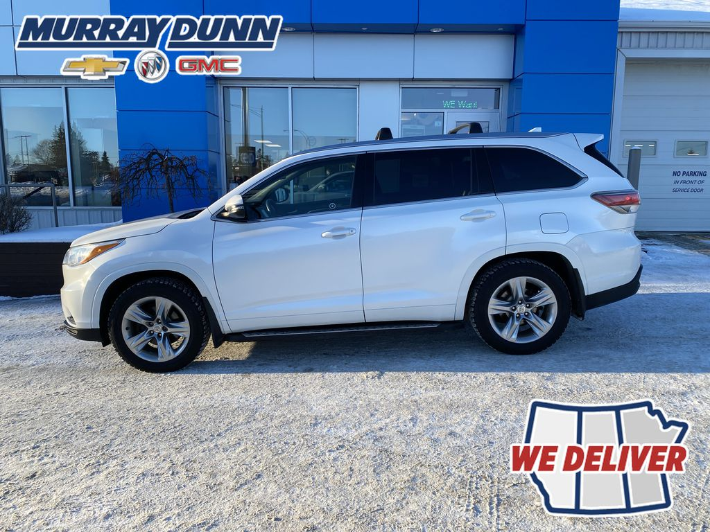 2015 Toyota Highlander Left Side Photo in Nipawin SK