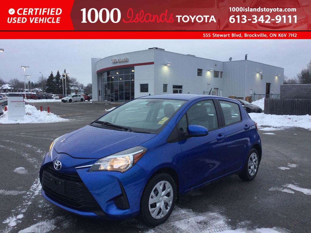Blue[Blue Eclipse Metallic] 2018 Toyota Yaris Hatchback