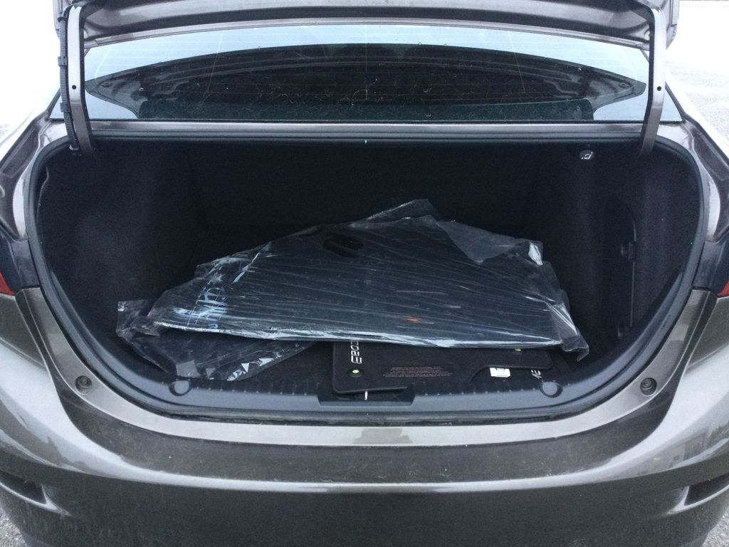 2015 Mazda Mazda3 Trunk / Cargo Area Photo in Brockville ON