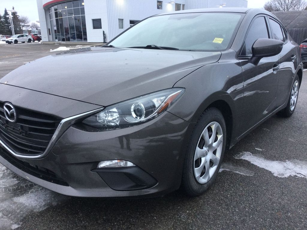 2015 Mazda Mazda3 Left Front Corner Photo in Brockville ON
