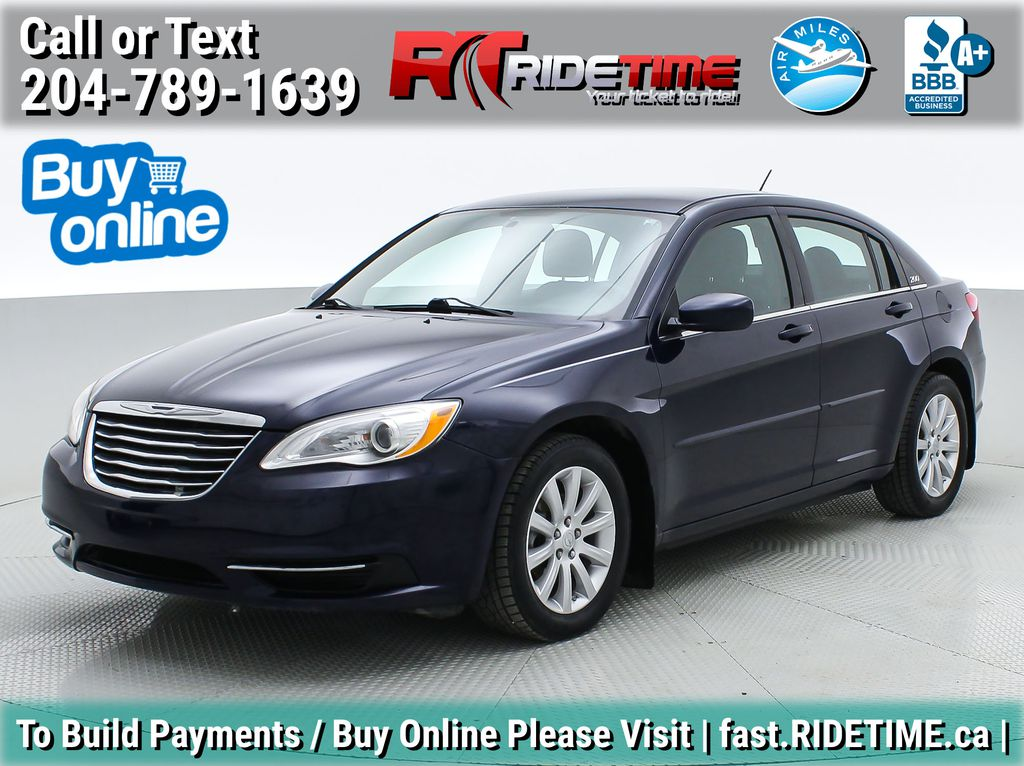 Blue[True Blue Pearlcoat] 2014 Chrysler 200 LX - Automatic, Air Conditioning