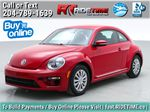 Red[Tornado Red] 2018 Volkswagen Beetle Trendline - Bluetooth, Heated Seats, Backup Cam Primary Listing Photo in Winnipeg MB