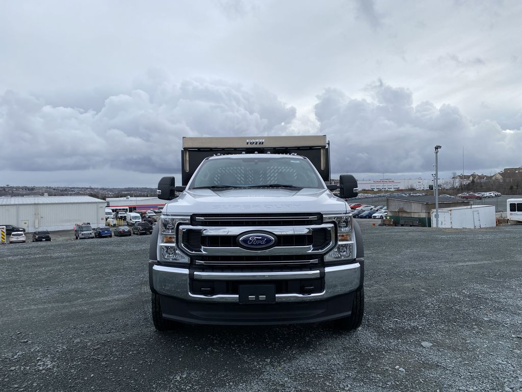 White[Oxford White] 2020 Ford Super Duty F-550 DRW Front Vehicle Photo in Dartmouth NS