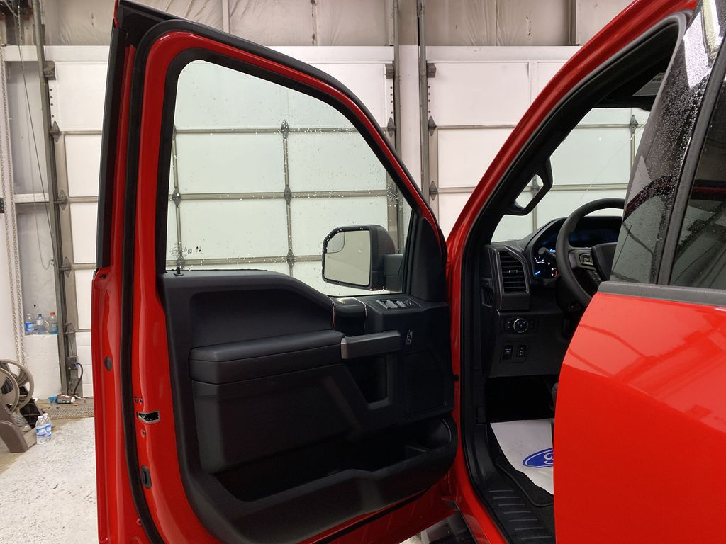 Red[Race Red] 2020 Ford F-150 Left Front Interior Door Panel Photo in Dartmouth NS