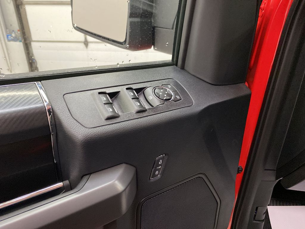 Red[Race Red] 2020 Ford F-150  Driver's Side Door Controls Photo in Dartmouth NS