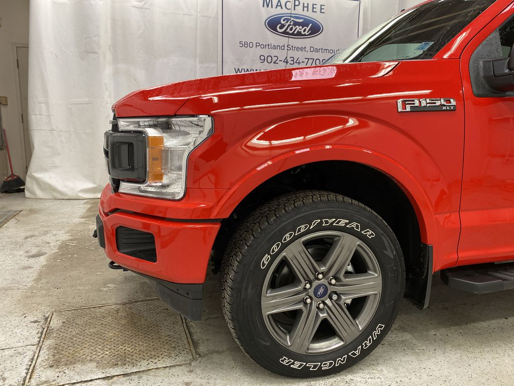 Red[Race Red] 2020 Ford F-150 Left Front Corner Photo in Dartmouth NS